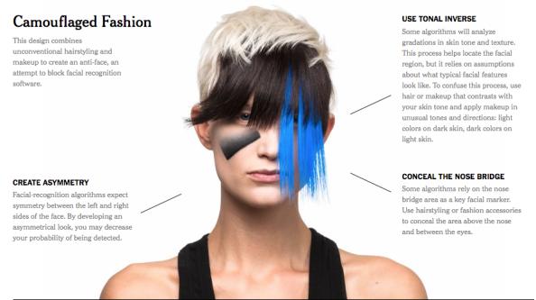 Face to Anti-Face / Facial Recognition / Surveillance